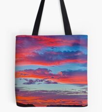 Hot Day Arriving in Africa Tote Bag