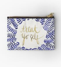 Treat Yo Self – Navy Studio Pouch