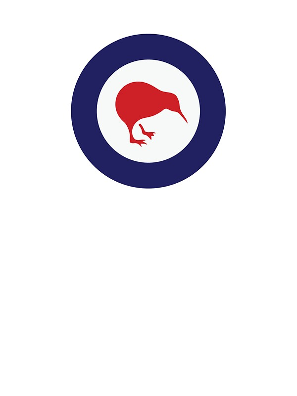 Quot Rnzaf Roundel Quot Stickers By Redwoodkiwi Redbubble