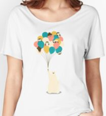 Penguin Bouquet Women's Relaxed Fit T-Shirt
