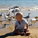 Seagull Over Head by Belinda Fletcher