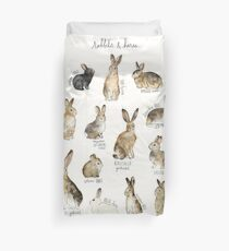Rabbits & Hares Duvet Cover