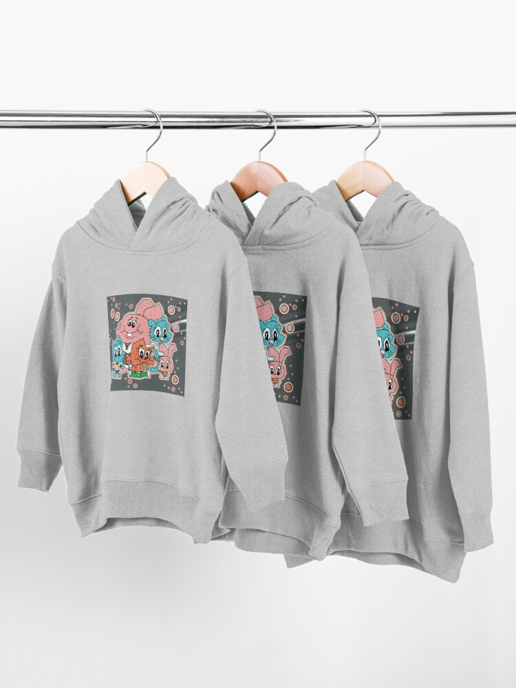 Alternate view of theamazingworldofgumball Toddler Pullover Hoodie