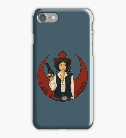 Rebel Girl iPhone Case/Skin