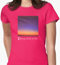 Flying Saucer Attack : Rural Psychedelia Womens Fitted T-Shirt