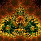 Escher Buddha by Virginia N. Fred