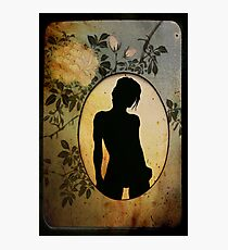 oval Photographic Print
