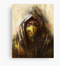 Tomek Biniek - Scorpion Canvas Print