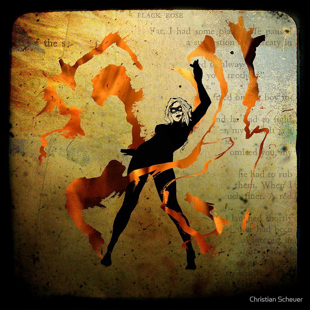 flame dancer by Christian Scheuer