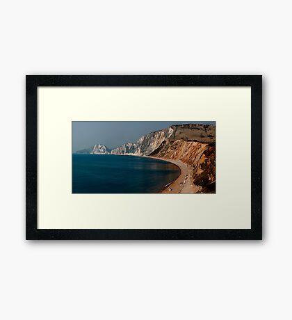 Warbarrow Bay Dorset Framed Print