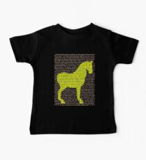 """The Year Of The Horse"" Clothing Baby Tee"