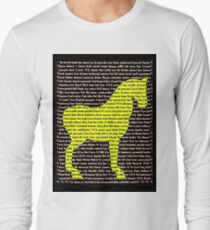 """""""The Year Of The Horse"""" Clothing Long Sleeve T-Shirt"""