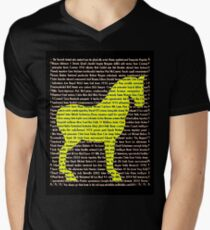 """The Year Of The Horse"" Clothing Men's V-Neck T-Shirt"