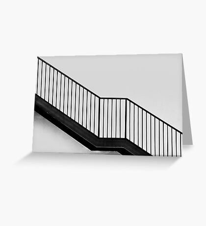 Going Up? Or Down? Greeting Card