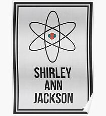SHIRLEY ANN JACKSON - Women In Science Wall Art Poster