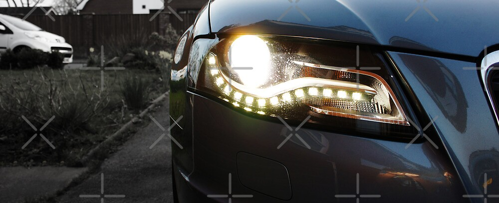 Audi A4 Daytime Running Lights by AndrewBerry