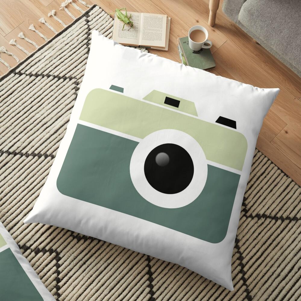 Camera Lovers Floor Pillow