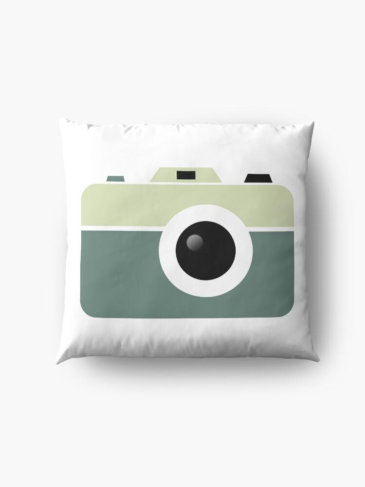 Alternate view of Camera Lovers Floor Pillow