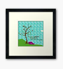Fish Albert Framed Print