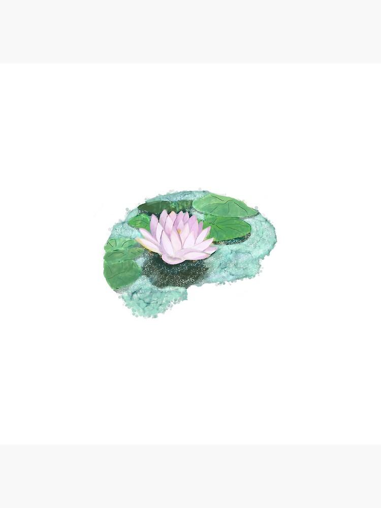 Zen Lotus Brain by Laurabund