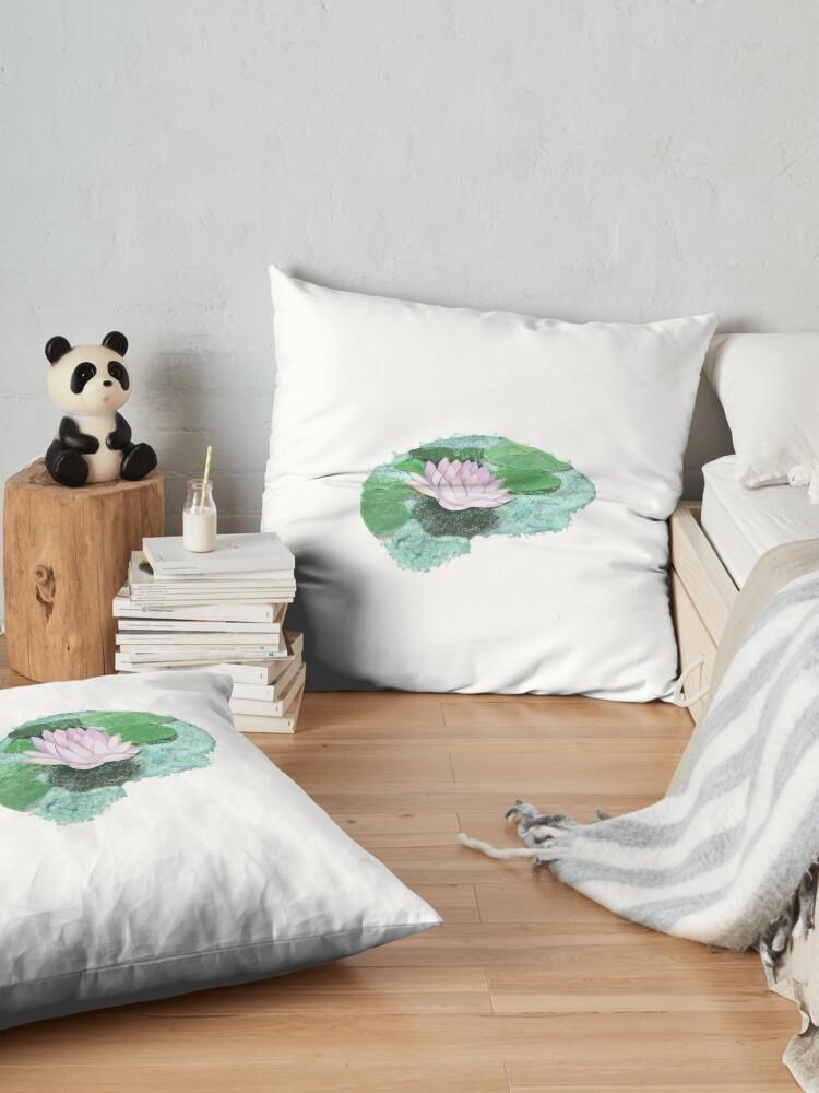 Alternate view of Zen Lotus Brain Floor Pillow
