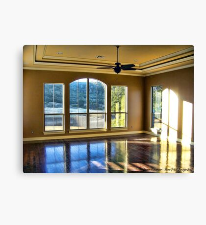 Interior Reflections Canvas Print