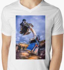 Big Rig Jig at Dismaland Men's V-Neck T-Shirt