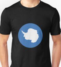 Antarctica Flag Slim Fit T-Shirt