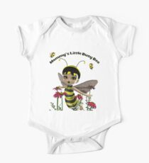 Mommy's Little Busy Bee One Piece - Short Sleeve