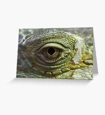 Eye to Scale Greeting Card