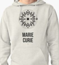 Marie Curie (Dark Lettering) - Clothing & Other Products Pullover Hoodie