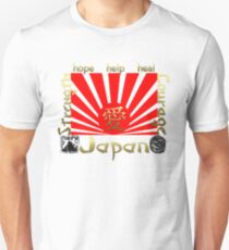 Japan Earthquake Tsunami Relief Rising Sun T-Shirt T-Shirt