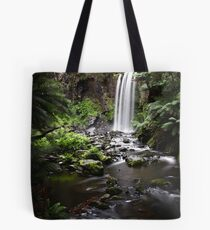 Hopetoun Falls, Down Stream Tote Bag