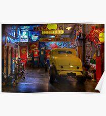 Hot Rod Garage 1 Poster