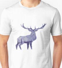 Blue Deer  T-Shirt