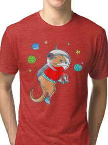 Otter Space  Tri-blend T-Shirt