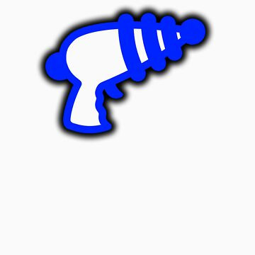 Blue 'Muslamic Ray Gun' by alexvegas