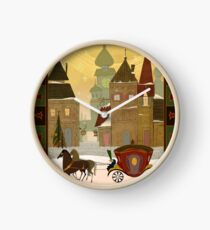 Christmas in the Old World Clock