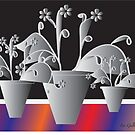 Another Pot of Flowers by IrisGelbart