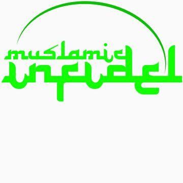 'Muslamic Infidel (Green) by alexvegas