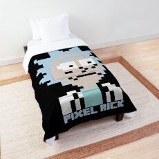 Pixel Rick Comforter