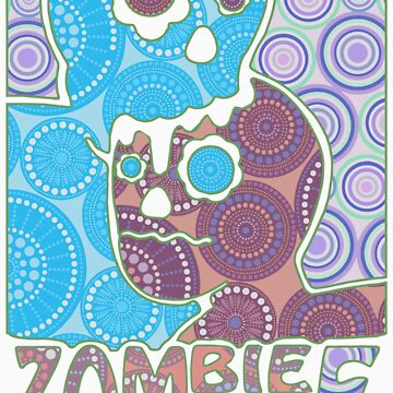 Zombie Love colored vith creentones by Morr-san