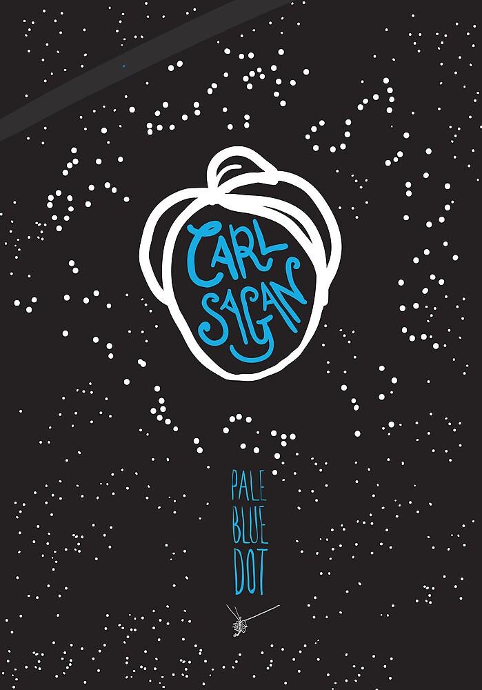 Quot Carl Sagan Pale Blue Dot Quot By Creativepanic Redbubble