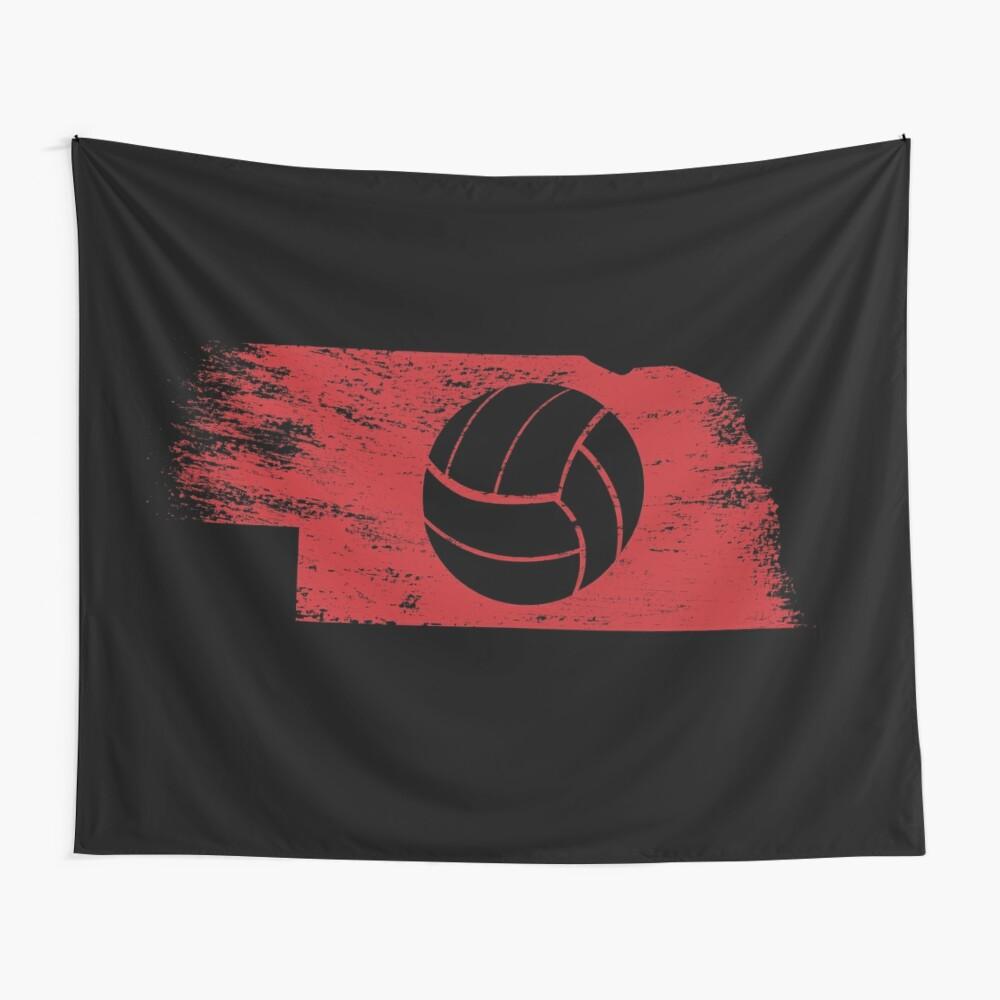 Volleyball In Nebraska Wall Tapestry
