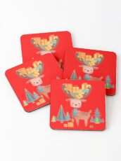 Christmas Deer  Coasters