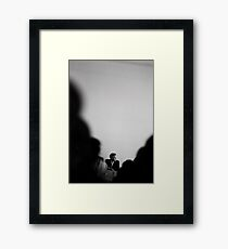 David Lynch - Copenhagen 2004 Framed Print