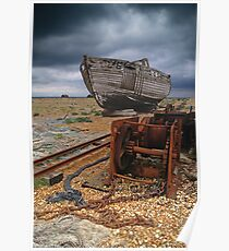 Discarded Dungeness, Kent Poster
