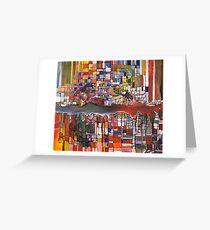 Geikie Gorge Greeting Card