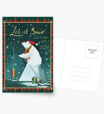 Let it Snow Postcards