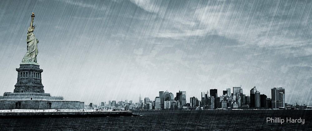 Liberty Manhattan by Phillip Hardy